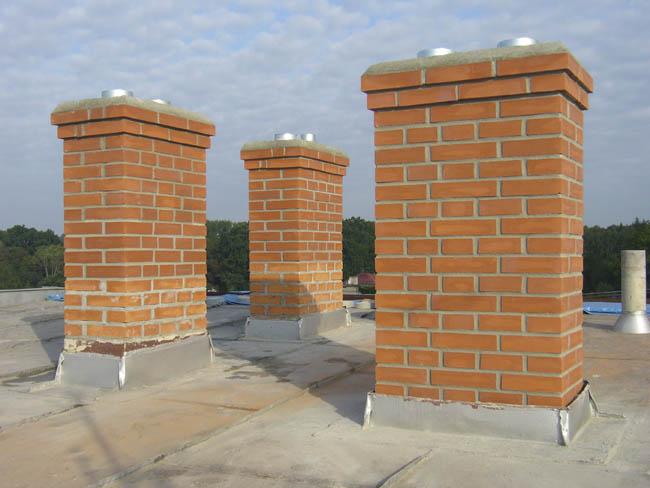 Stavba, zdění, vložkování, frézování, revize komínů, Ostrava