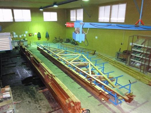 Výroba a konstrukce vazníků