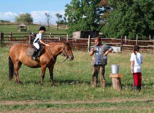 Farma s rodinnou tradicí se zaměřením na chov koní a aktivitami s nimi spojenými