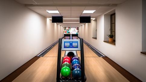 Sportovní zázemí hotelu, bowling
