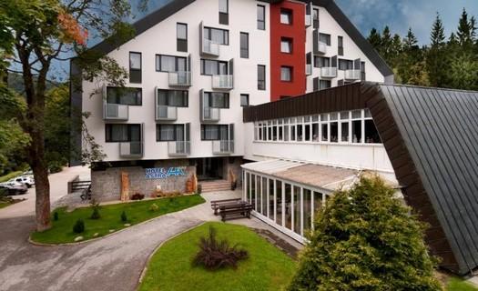 Wellness Hotel Astra, Špindlerův Mlýn v Krkonoších