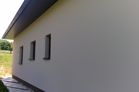 Zhotovení, realizace strojních omítek u rodinných, bytových domů