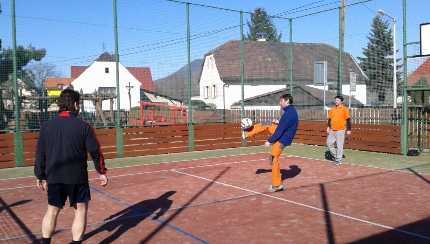 Sportovní vyžití v obci