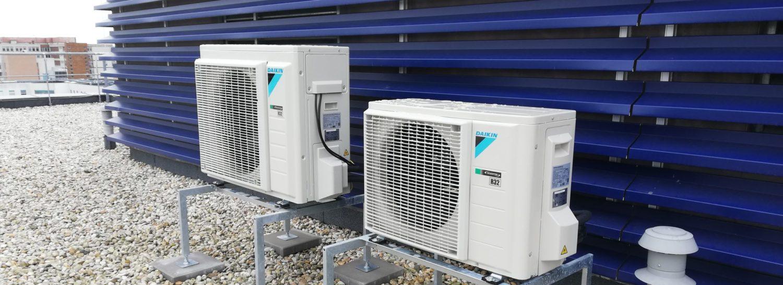 Klimatizace a tepelná čerpadla - dodávka, montáž a servis