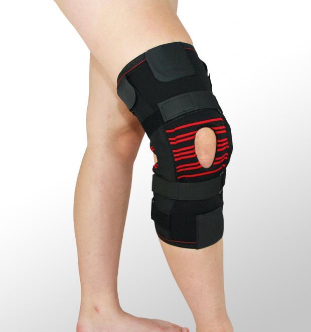 Ortéza kolenní s nastavitelným rozsahem (návlek s postranními suchými zipy)