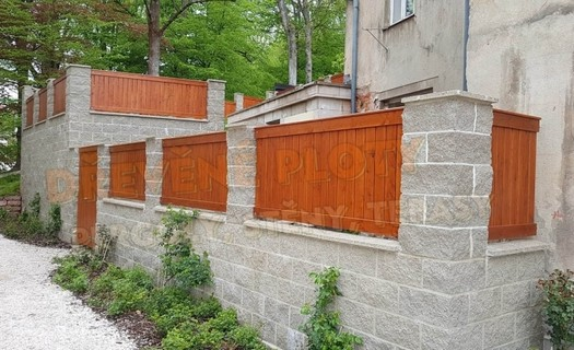 Dřevěné ploty na klíč Pardubice