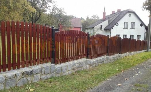 Dřevěné ploty na klíč Pardubice, repliky historických plotů