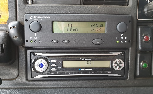 ověření tachografů - Kroměříž, Olomoucký kraj