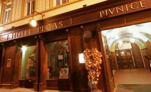 Ubytování v hotelu Pegas - pivovar, pivnice v Brně, vlastní minipivovar, parkování, česká kuchyně