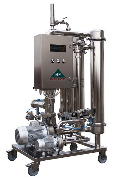 Průmyslové filtry, filtrace vína Hodonín