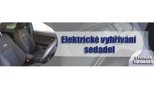 Prodej a montáž elektrických vyhřívání sedadel Vsetín, Zlín