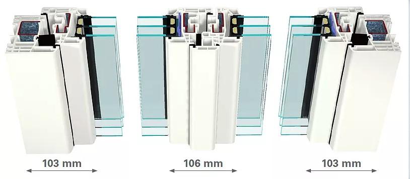 Plastová okna kvalitních profilů a skel