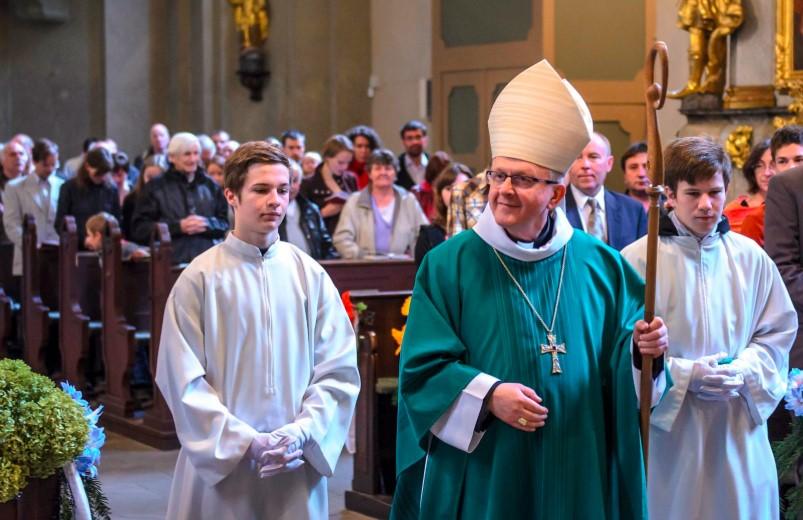 Bohoslužby a duchovní setkání v kostele sv. Antonína Velkého