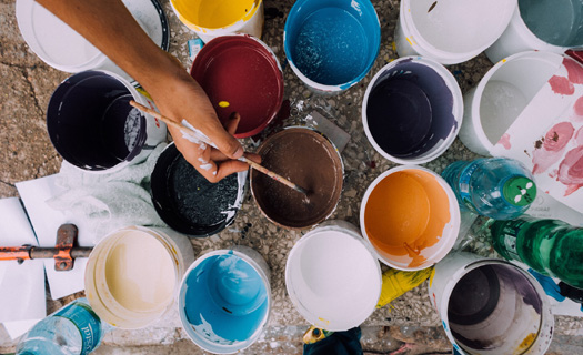 Kompletní malířské, lakýrnické a natěračské práce Brno, malby bytů, domů, nátěry fasád, nástřiky