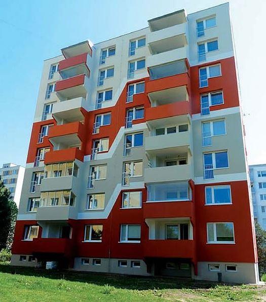 Zvětšení a prodloužení balkonů