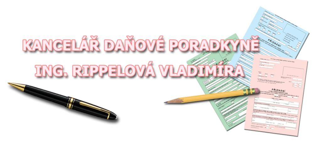 Kancelář daňové poradkyně a účetní v Kladně - Ing.Vladimíra Rippelová