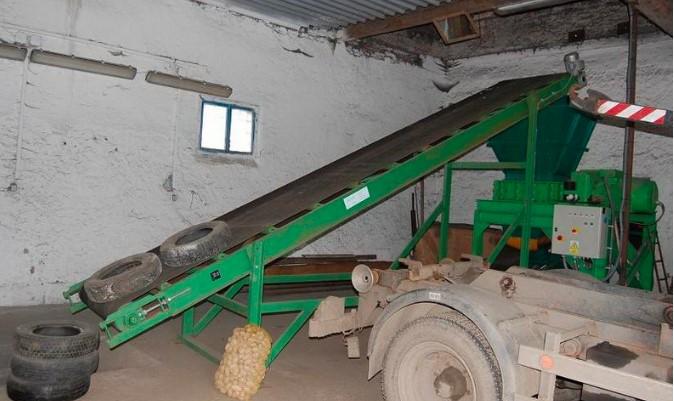 Likvidace pneumatik, odpadů a starých ekologických zátěží