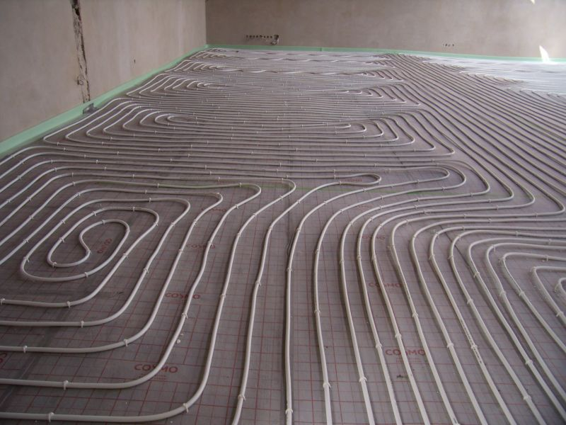 Podlahové topení, soláry a jiné instalace