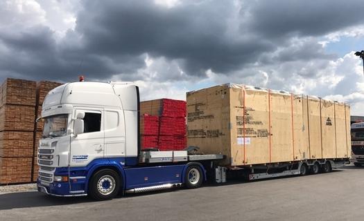 Transport nadrozměrných nákladů po celé Evropě