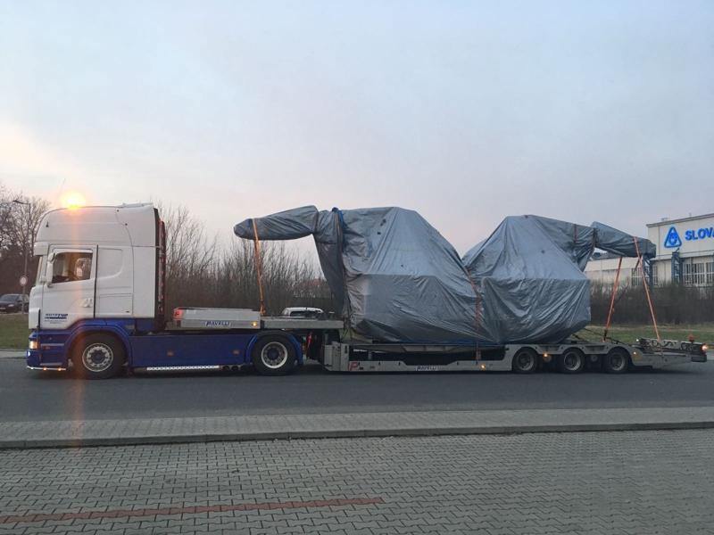 Kamionová přeprava velkých nákladů