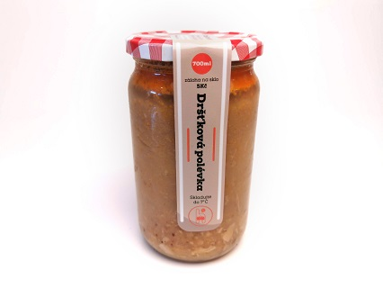 Bufet u řezníka Třebíč  - dršťková, gulášová polévka, pečená masa