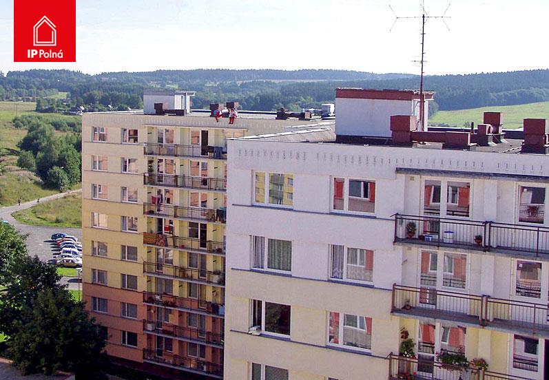 Izolace střech panelových domů