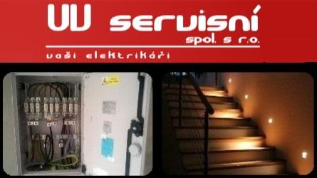 UV servisní - elektrikáři Zlín