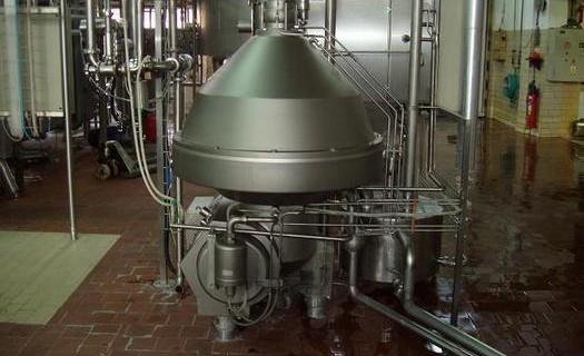 Pasterizační stanice mléka