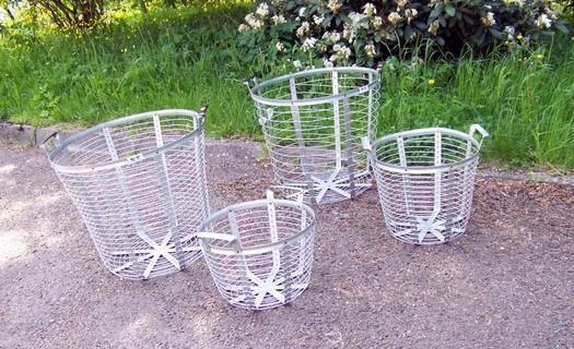 Výroba a prodej drátěných košů Jamné nad Orlicí, drátěné koše z pozinkovaného materiálu
