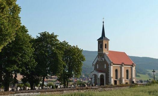 Kaple sv. Voršily, Městys Křemže