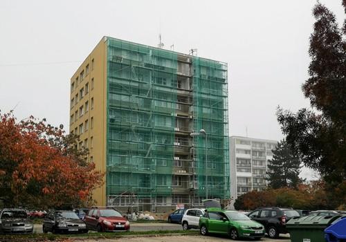 Zateplení fasád bytových, panelových domů