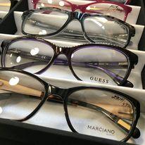 Značkové dioptrické a sluneční brýle -  Guess , Harley Davidson,, Mango, Lacoste a další