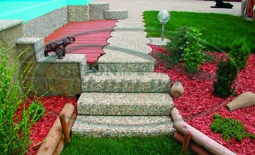 Schodišťové prvky, Betonové schodišťové stupně a jejich obklady