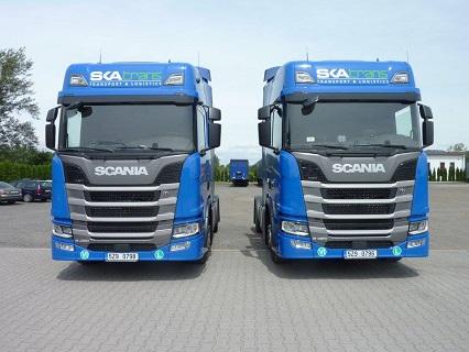 Doprava zboží do zemí jižní a západní Evropy pomocí mezinárodní kamionové přepravy