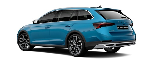 Nová ŠKODA OCTAVIA SCOUT, G-TEC - aerodynamické vlastnosti, rodinný i pracovní vůz