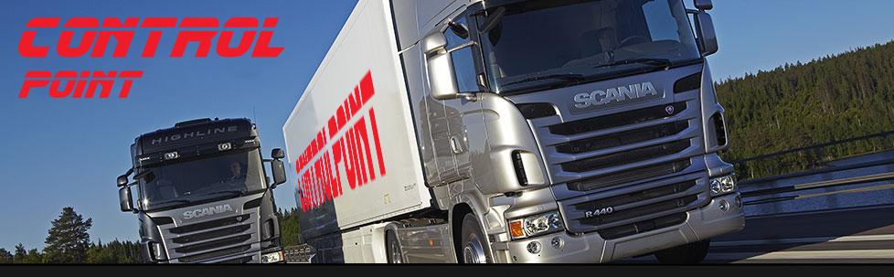 Kamionová přeprava v rámci Evropy