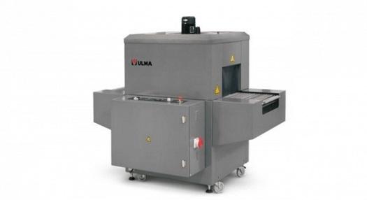 Horkovzdušné smršťovací tunely ULMA - balení potravin, výrobků do folie