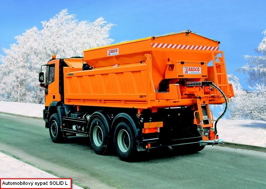 RASCO přináší novinky - robustní technika pro údržbu silnic - PEKASS