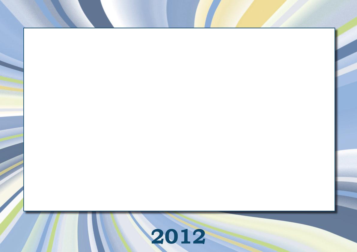 Tisk, online výroba, vlastní tvorba kalendáře z fotek na rok 2012