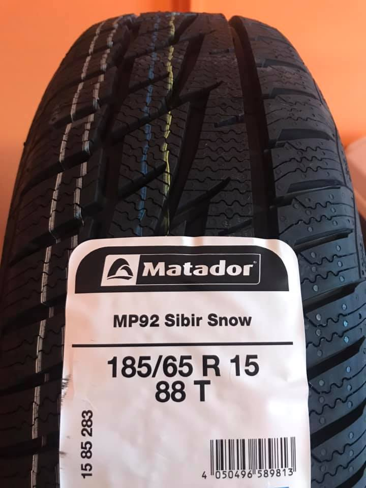 Zimní pneumatiky Matador - Zlín