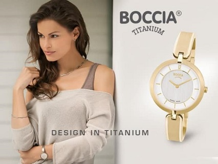 Titanové hodinky BOCCIA - dámské, pánské hodinky německé výroby z čistého titanu