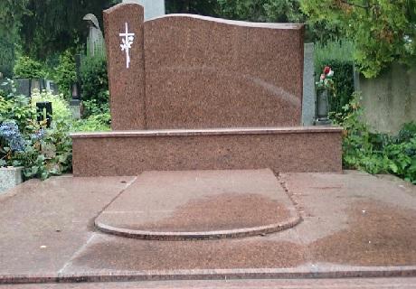 krycí deska na dvojhrob - výroba Brno