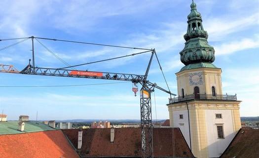 Pronájem věžových jeřábů Brno