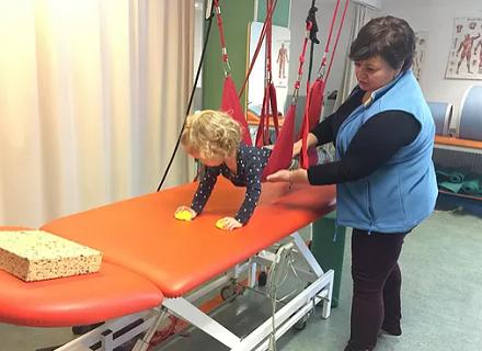 Vojtova metoda, fyzikální terapie a léčebná rehabilitace dětí