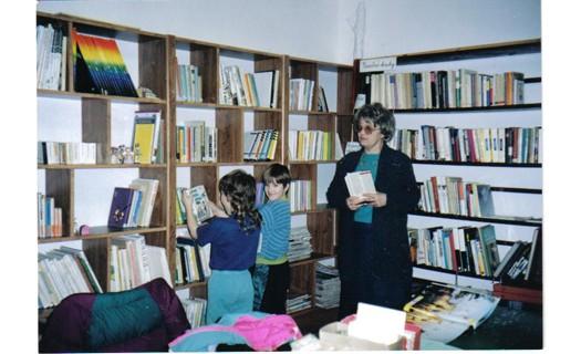 Obecní knihovna Pašinka pro dospělé a mládež
