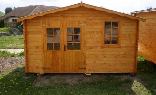 Zahradní domky ze sušeného smrkového dřeva Přelouč, domek dovezeme až k Vám domů!