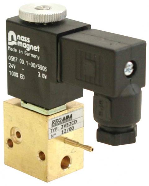 Modulární elektromagnetický ventil