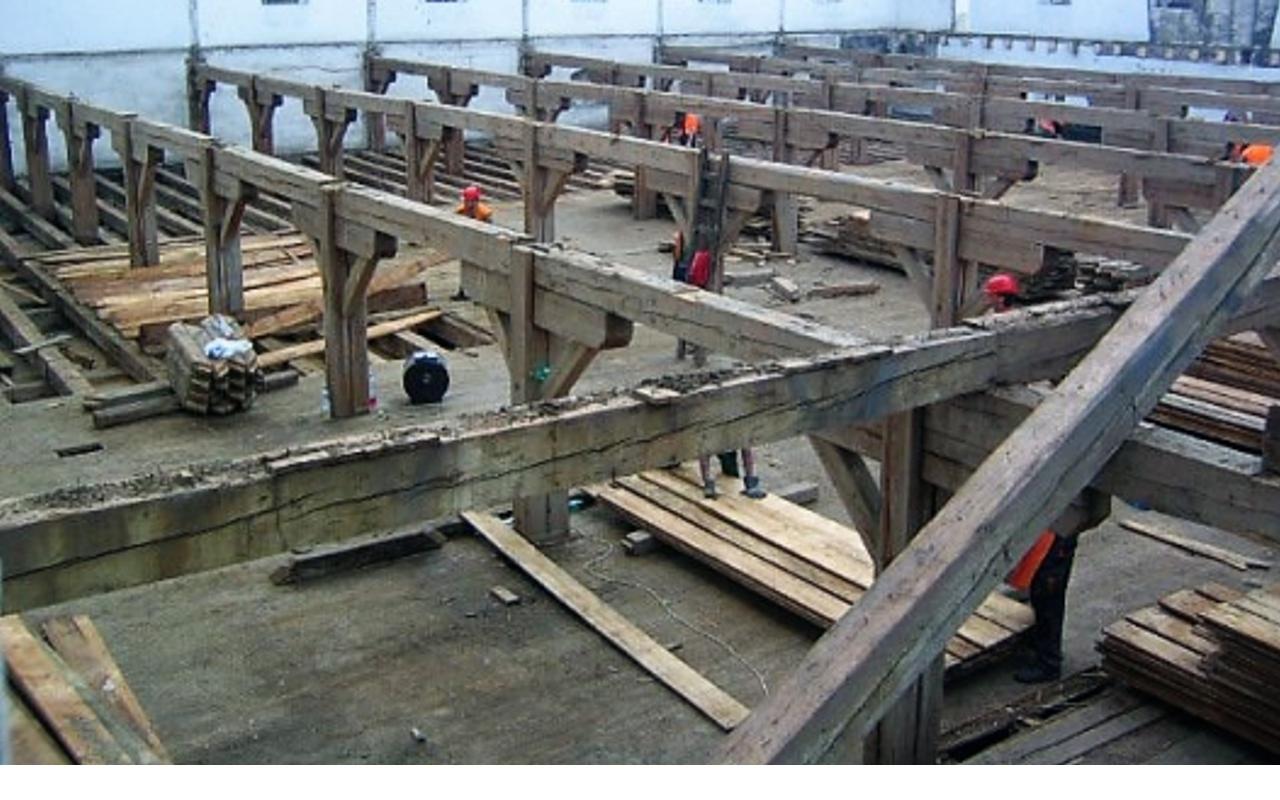 Demontáž dřevěných konstrukcí a výkup materiálu