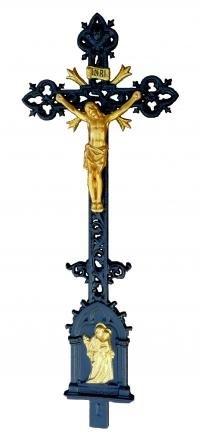 Litinové, ocelové, dřevěné, závěsné hřbitovní křížš