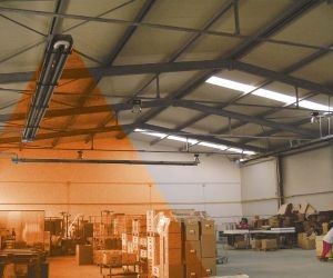 Průmyslové plynové infrazářiče Schulte - nejúčinější nízkoteplotní sálavé systémy pro vytápění hal